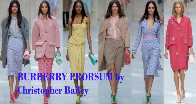 BURBERRY PRORSUM- PRIMAVERA / VERANO 2014